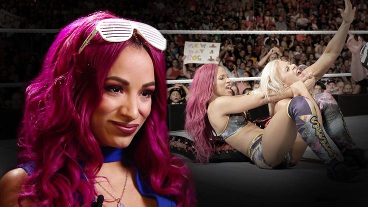 """Sasha Banks on why """"people are buying tickets to see the women"""" now: Jun..."""