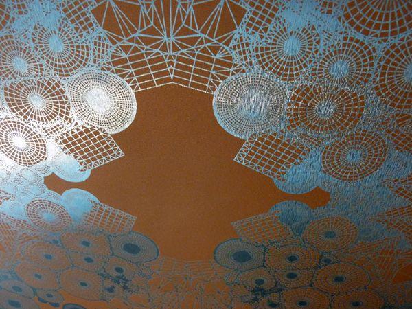 Tectonic Fields Wallpaper by HUXHUX Design