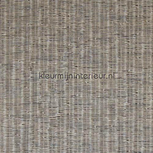 Fijn geweven rattan grijs bruin behang 18331, Riviera Maison van BN Wallcoverings