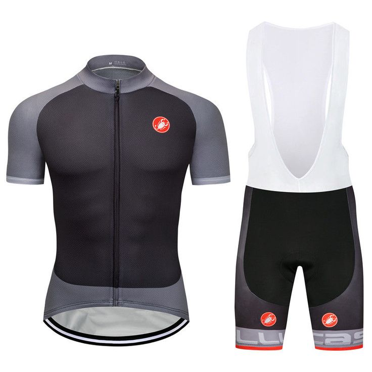 2018 Brand New Cycling Wear Short Sleeve Jersey Shirt Bib Shorts Set Outfits Hot #UnbrandedGeneric