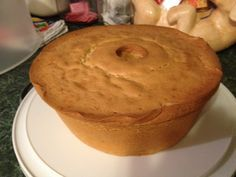 Grandpa's Perfect Pound Cake was the recipe of a 100 year old African American gentleman that was printed in Woman's Day magazine over 30 years ago.  It is the BEST pound cake I've ever eaten.  The crust is fabulous and the cake gets better as the days go by. Note: I cut the recipe in half, I don't dare make two of them.  Use a 10 inch pan to make just one cake, I used a 9 inch with this cake and it was a little too much batter.