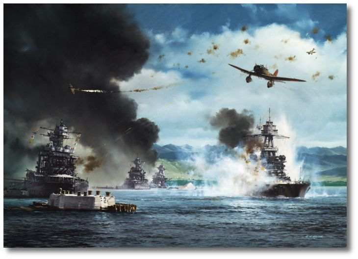 Val ~ Aichi DA3 ~ A Day of Infamy - the Attack on Pearl Harbor by R.G. Smith ~ BFD