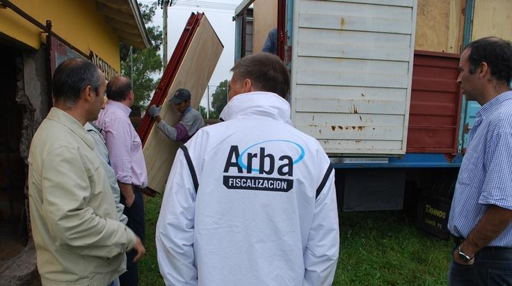 Arba entregó mercadería por más de 100 mil pesos en tres municipios del interior provincial