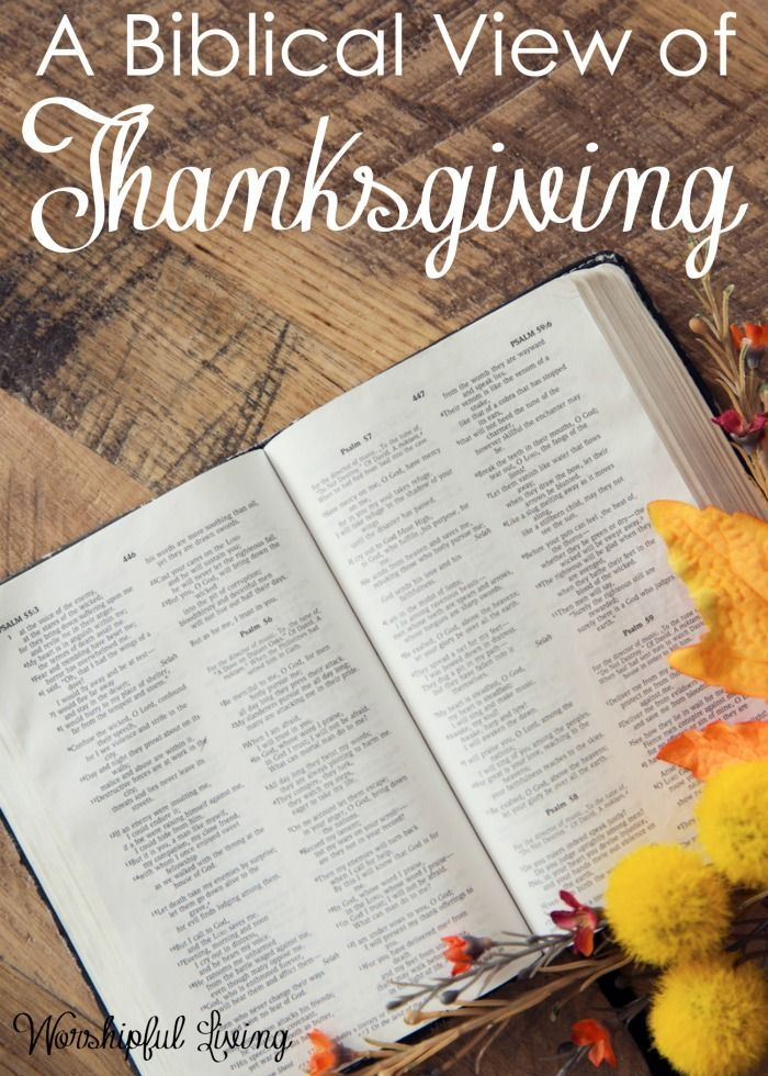 The Thanksgiving season is here. What does it mean to be thankful - from the Bible's perspective. It might be different than you think!