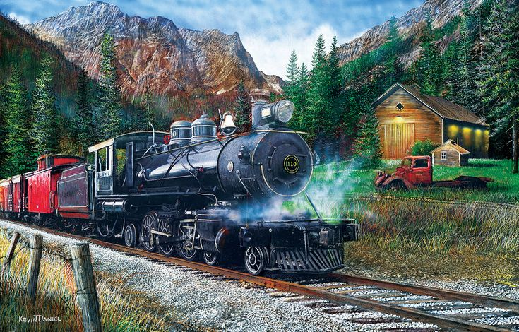 The Leinad Express Jigsaw puzzles, Puzzle, 1000 piece