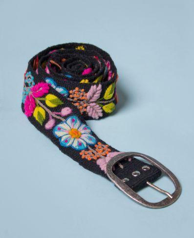 Peruvian Belt | Hippie Flower Belt | Soul Flower