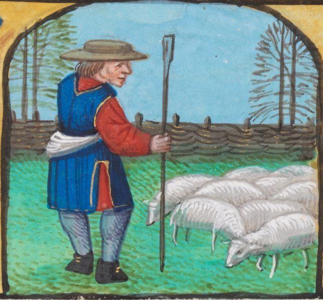 Stundenbuch Flandern, wahrscheinlich Brügge · um 1500 AF A28  Folio 6r