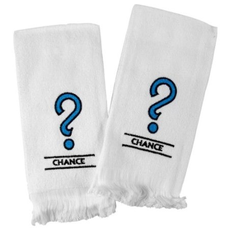Amazon.com: Monopoly Chance Embroidered Fingertip Towel, Set of 6: Home & Kitchen