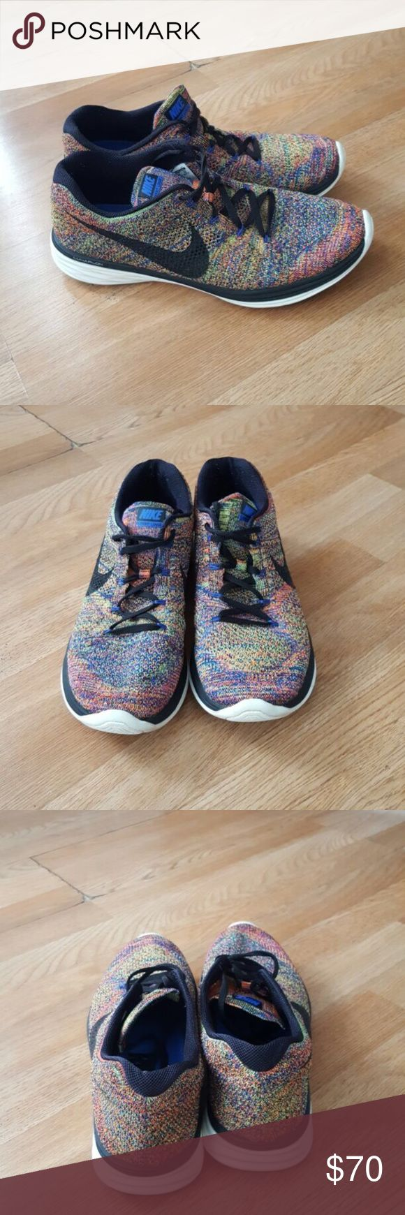 Nike flyknit lunar 3 size 11 men's In good condition nike Shoes Athletic Shoes