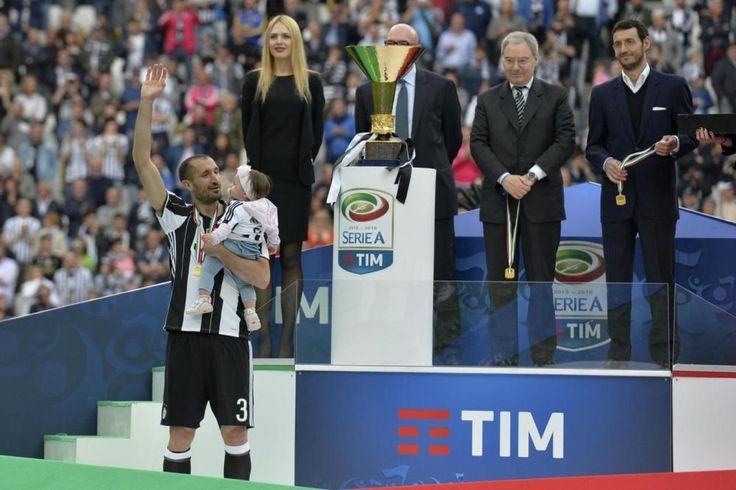 Juve, la premiazione dei campioni d'Italia