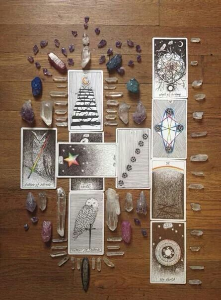 Crystal tarot guide. this is the deck I love.