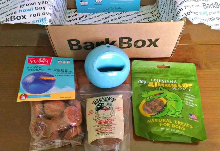 A monthly box of toys and treats for you pup, from BarkBox! Check it out here: https://barkbox.com/r/9KBQWL6EDV