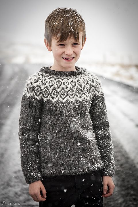 Ravelry: unneva's Kuldi Lopi Sweater