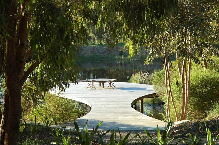 Rick Eckersley garden in the ALC Tour