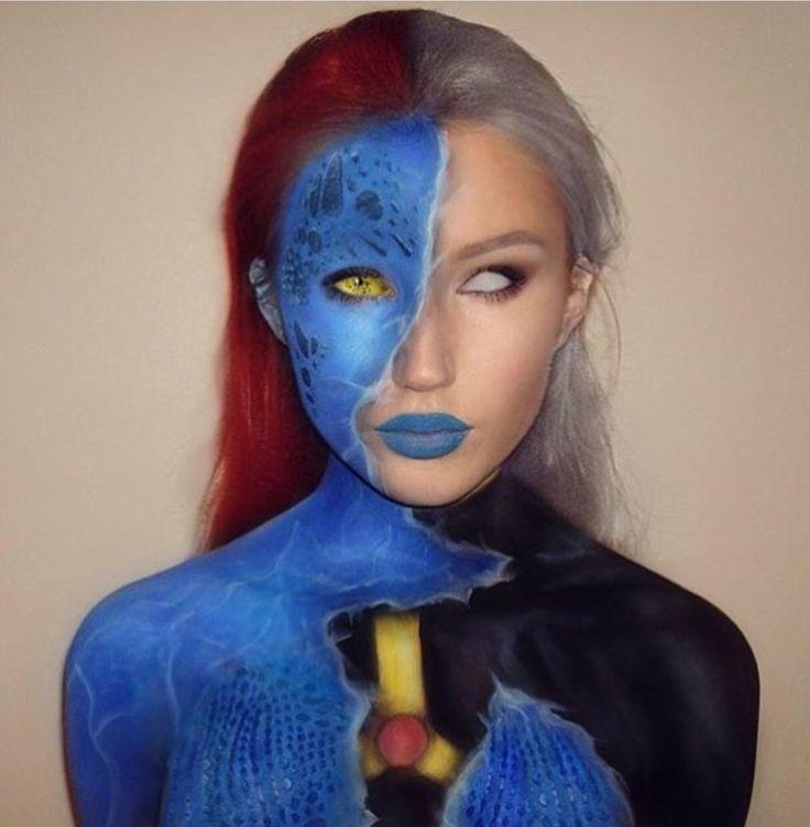 Storm and Mystique makeup                                                       …