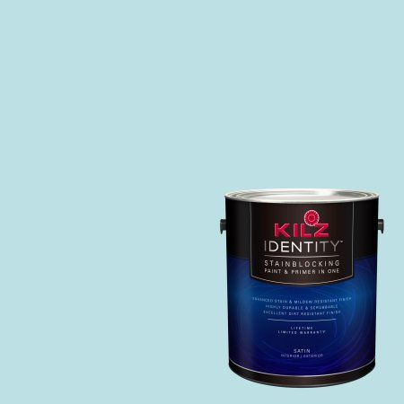 Kilz Identity Interior/Exterior Stainblocking Paint & Primer in One #RF230-01 Eastern Promise, 1 gallon