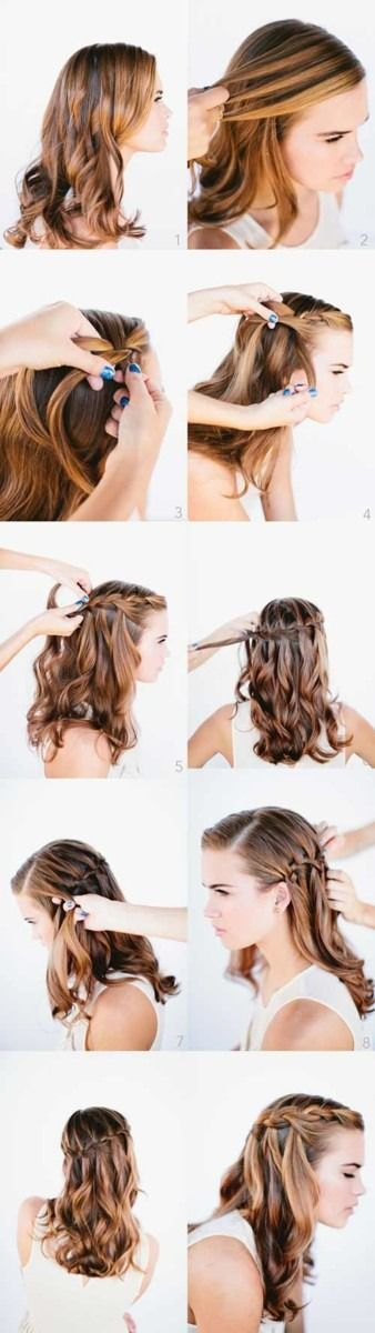 20 amazing hairstyles for curly hair for girls The secret to make your curly locks look beautiful is to guide them …