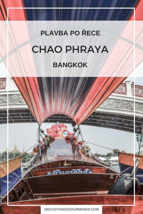 Bangkok: Plavba po řece Chao Phraya