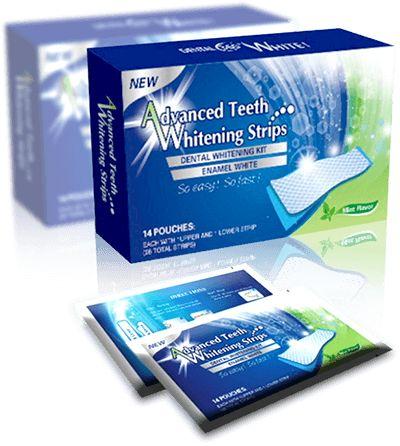 Dental Whitestrips - BĚLICÍ PÁSKY NA ZUBY - Bělení zubů v domácích podmínkách!
