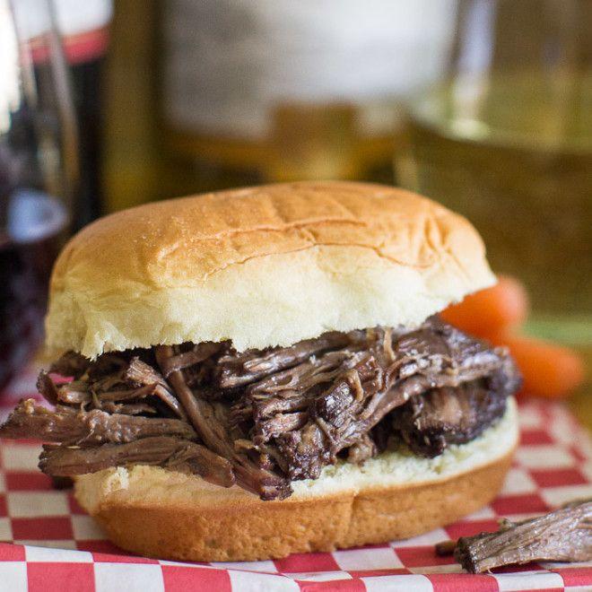 Easy Beef Bourguignon Sandwich