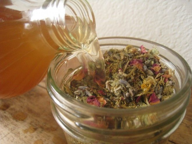 Make your own herbal astringent...great for oily and acne prone skin!