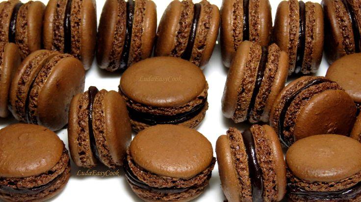 Как приготовить французское #пирожное печенье #Макарон #LudaEasyCook