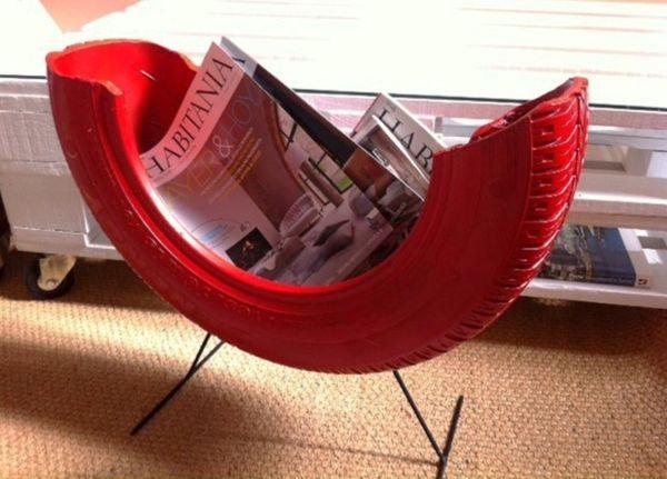 DIY Projekte - Basteln Sie interessante Möbel aus Autoreifen