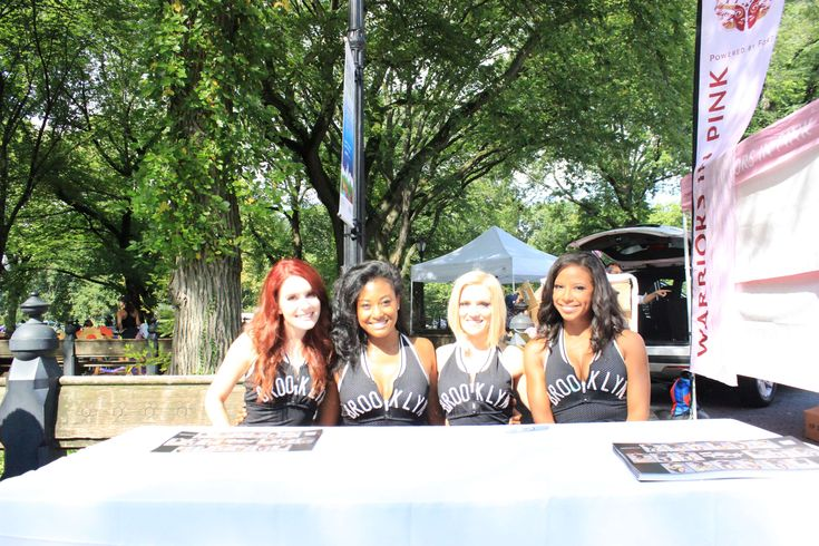 #brooklyn nets #cancer walk #causes #central park #dancers #fashion #models #new york #people #walking #women