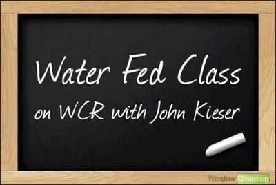 Water Fed Pole Class With John Kieser, Part 2.