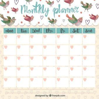 17 Mejores Ideas Sobre Planificador Mensual En Pinterest