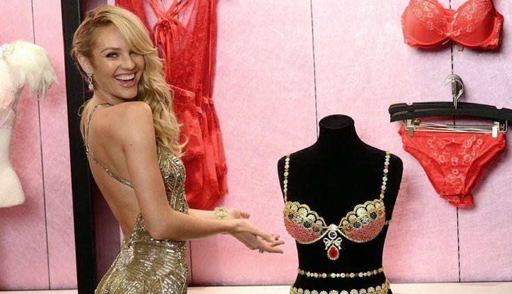 #CandiceSwanepoel lució el sostén más caro del mundo en desfile de Victoria's Secret [FOTOS]