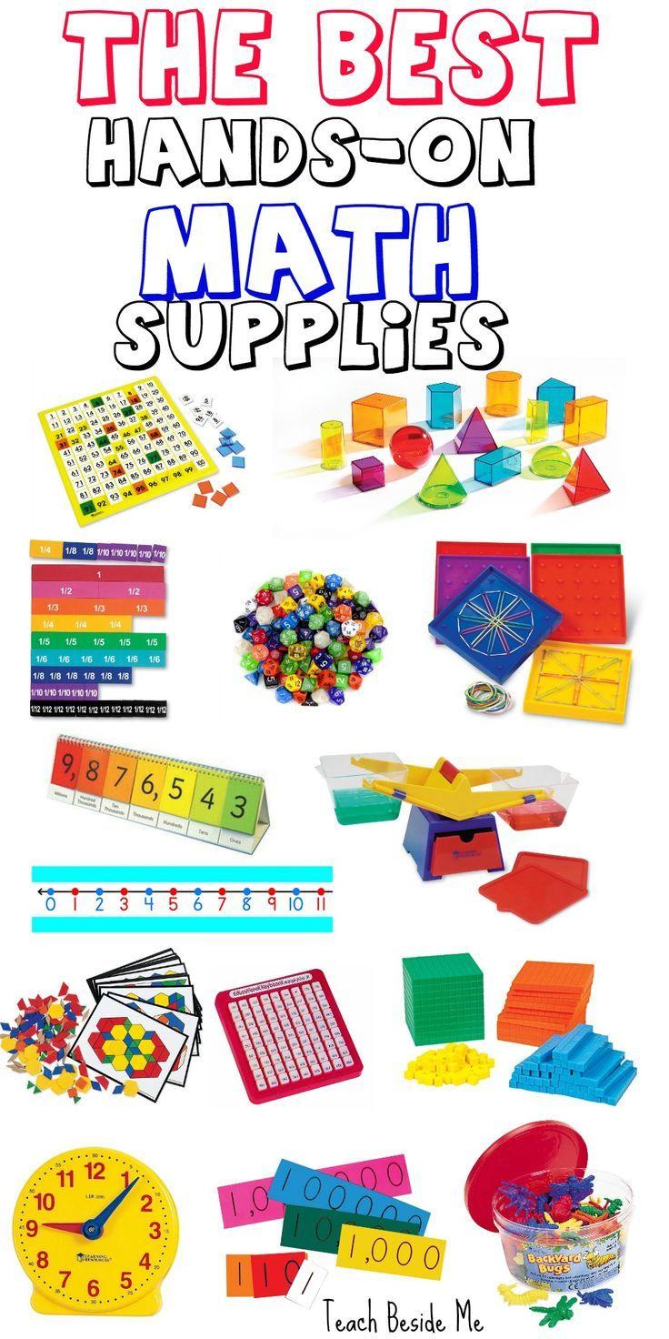 The BEST Hands-On Math Supplies for Kids