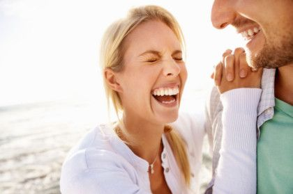 Laughter and Love: why we all need that funny someone. #relationships #love #laughter #bodyandsoul