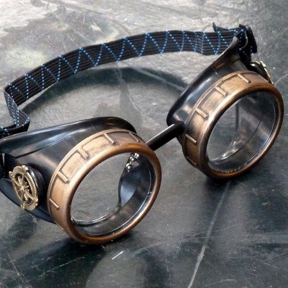 Basic Transparent Steampunk Glasses