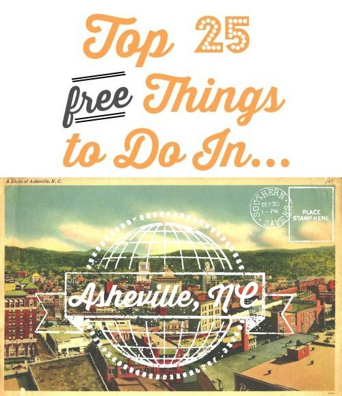 Did you know we have an Asheville, NC location!? Check out 25 free things to do in asheville
