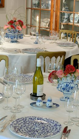 Dineren bij de Delfts Blauwe Nachtwacht bij Royal Delft