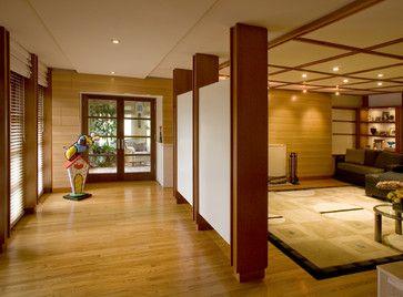 Prairie Style Media Room - Contemporary - Media Room - Philadelphia - Stone+Glidden, Inc