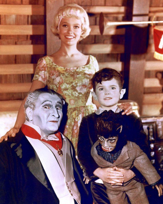 The Munsters: Grandpa, Marilyn and Eddie