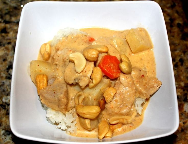 Homemade Massaman Curry - easy recipe for making Thai food at home