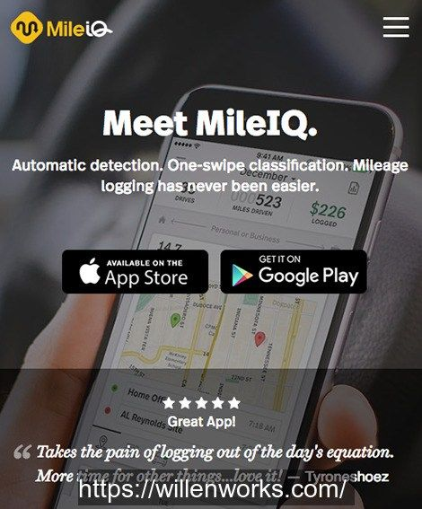 IT SERVICES - TIP OF THE DAY! MileIQ Premium is now included in your company's Office 365  subscription!    Get the most out of your business, charity, or medical mileage. MileIQ is a very useful APP. It is an automatic mileage tracker that logs your business miles for taxes. MileIQ logs every drive automatically, making it easy for  you and your team to keep complete, accurate mileage records.