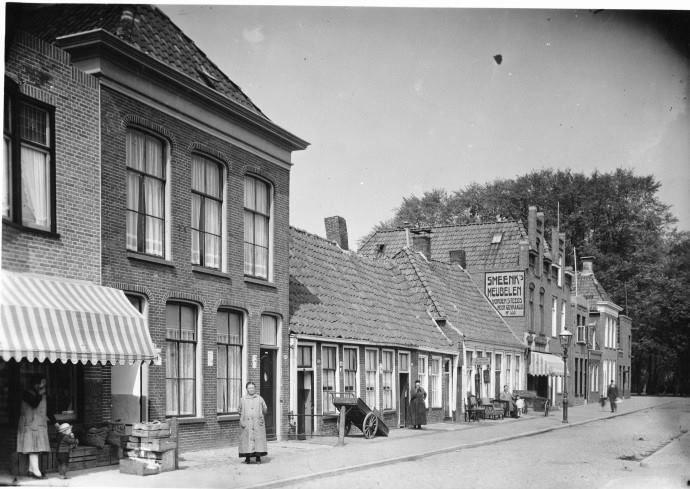 Nieuwe Kijk in 't Jatstraat in 1930 - Foto's SERC