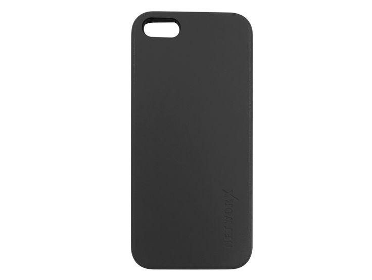 Networx PU Leder Case, Schutzhülle für iPhone 5/5s/SE, Kunstleder, schwarz