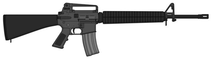 M16A4 Assault Rifle by Skorpion66 on DeviantArt