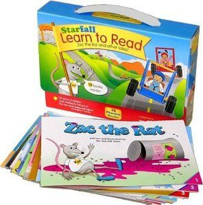 learn to read starfall readers full color books available on amazon match the interactive books