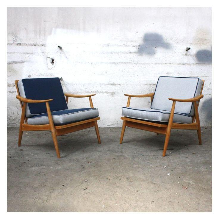 Les 25 meilleures id es de la cat gorie chaise tiss e sur for Peindre un fauteuil en bois