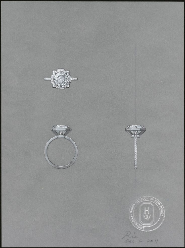 The original Belle engagement ring designs.