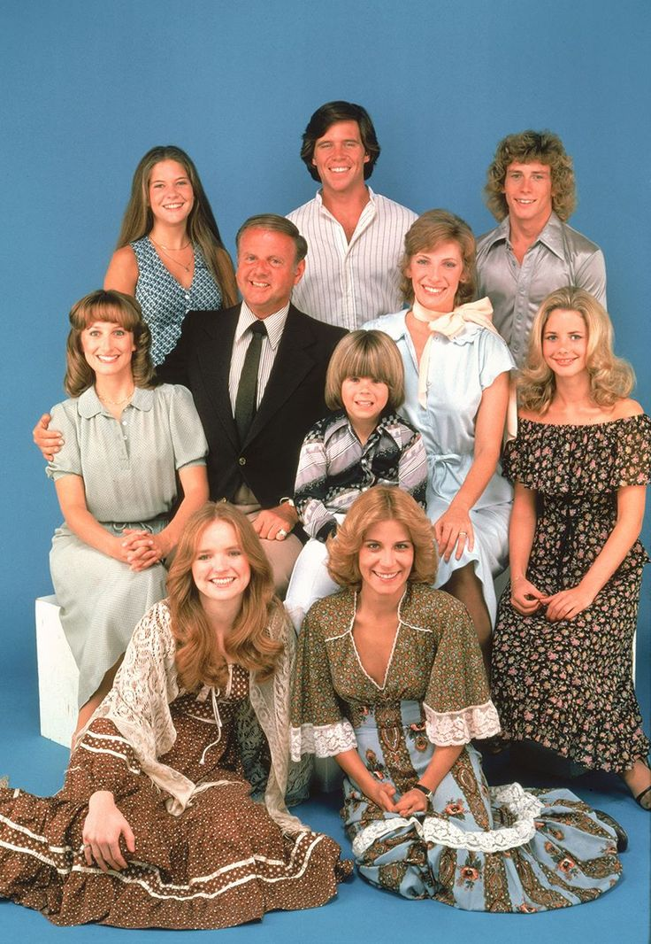 Adam Rich and cast of Eight is Enough