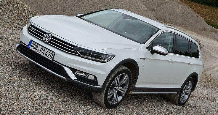Der neue #Volkswagen #Passat #Alltrack #SUV auf Neuwagen.de im #fahrbericht