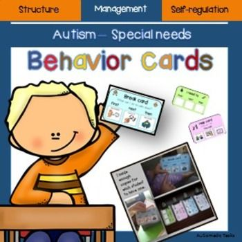 Amazon.com: Plastic Visual ASD Behavior Keyring (Picture ...