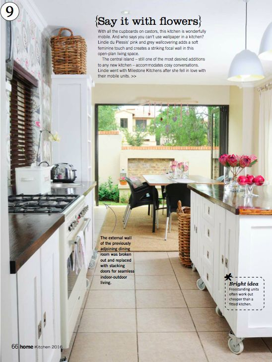 The Swedish Style Milestone Kitchen features as one of the top 15 kitchens most loved by HOME/TUIS readers.